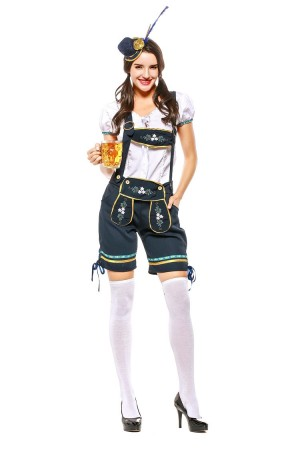 Ladies Oktoberfest Beer Maid Costume 3106