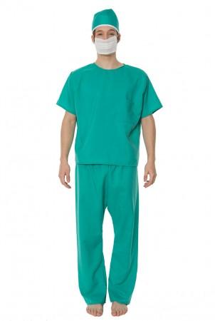 Mens Doctor Uniform Fancy Dress Costume