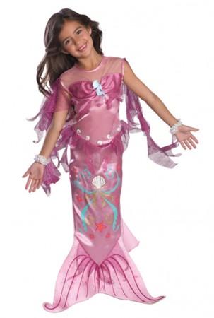 Mermaid Costumes - Pink Magical Mermaid Toddler Child Costume Fancy Dress Mermaid Princess Ariel Book Week Fancy Dress Child Costume