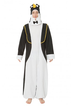 Onesies & Animal Costumes - Adult Penguin Animal Christmas Halloween Fancy Dress Costume Party Dress Outfits