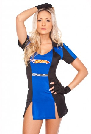 Sports Costumes - Miss Racer Racing Sport Driver Costume