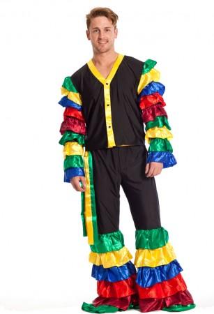 Rumba Costume Adult Samba Tropicalismo Carnival Spanish Latin Fancy Dress