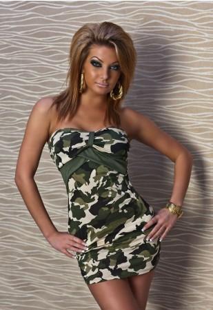 Camouflage Min Club Dress