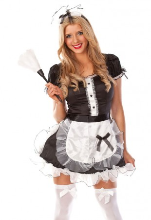 French Maid Costumes - Ladies French Maid Outfit