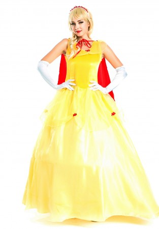 Beauty And The Beast - Disney Princess Belle Beauty and the Beast Fancy Dress Costume
