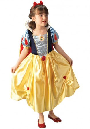 Snow White Costumes - Disney Snow White Platinum Child Fancy Dress Costume