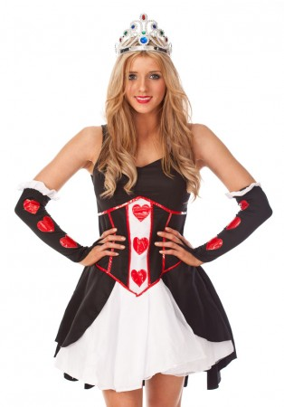 Queen of Hearts Princess Costume