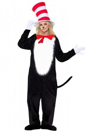 Ladies Cat in the Hat Costume