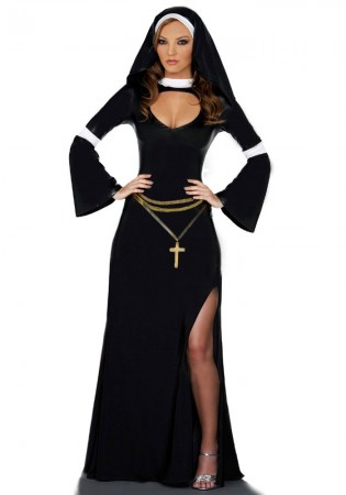 Nun Costumes - Naughty Nun Fancy Dress Costume