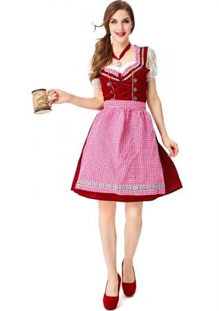 Ladies Oktoberfest Beer Maid Costume tt3109