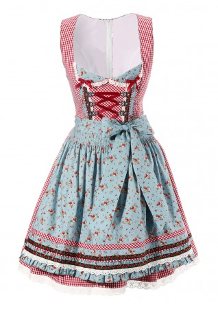 Girls german heidi Costume lh317_1