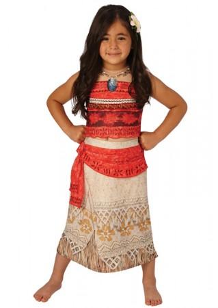 Moana Polynesia Princess Girls Kids Hawaiian Necklace Girls Costume