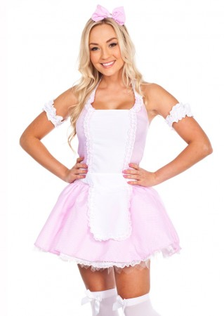 French Maid Costumes - Ladies Little Miss Muffet French Maid Costume