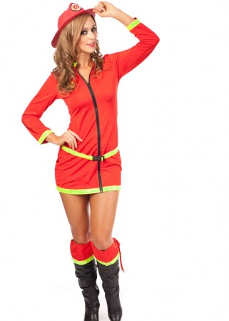 Fire Fighter Costumes - Fire Fighter Costume