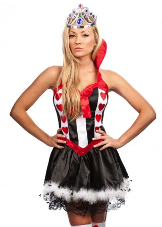 Queen of The Hearts Costume