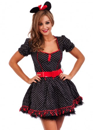 Mini Mouse Costumes - Sexy Minnie Mouse Costume