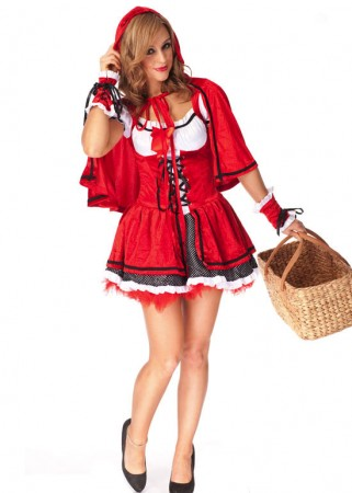 Red Riding Hood Costumes - Halloween Red Riding Hood Fancy Dress Costume