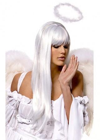 Wigs - Ladies White Angel Wigs