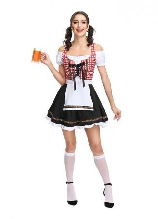 Ladies Oktoberfest Beer Maid Costume tt3107 4