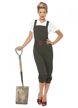 WW2 Land Girl Costumes CS39491
