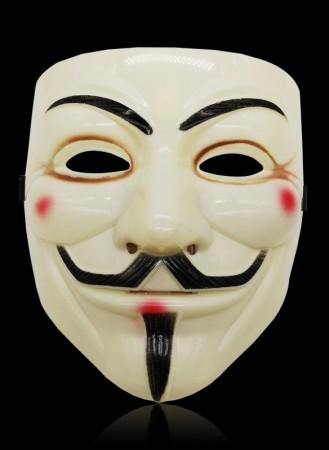 yellow V For Vendetta Mask lx2025-4