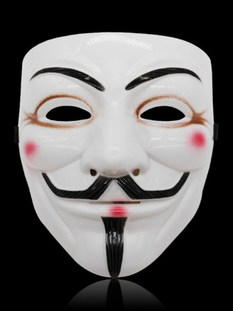 white V For Vendetta Mask lx2025-5
