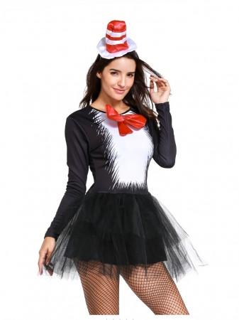DR SEUSS CAT IN THE HAT WOMENS COSTUME TT3047