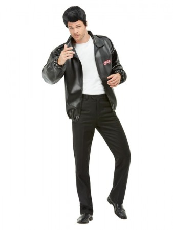 Mens T-Bird Grease Jacket 50s costume