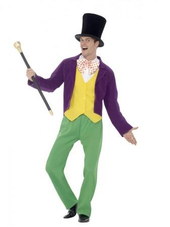 Roald Dahl Willy Wonka Factory Adult Book Week Costume