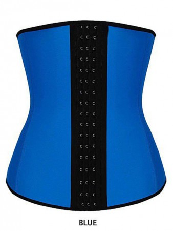 Burlesque Costumes - Latex Waist Trainer Training Cincher Underbust Corset Shaper Shapewear