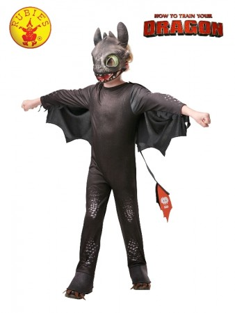 How to Train Your Dragon 3 Toothless Night Fury Child Boy Licensed Costume halloween Book Week The Hidden World