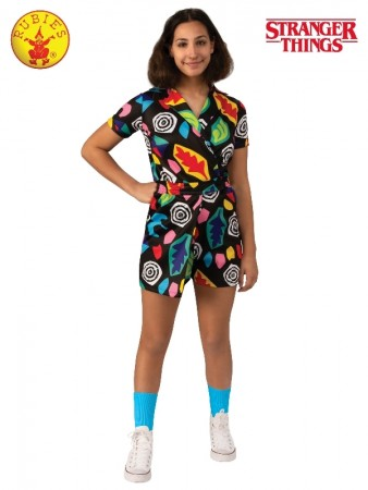 Child Teen Eleven Mall Dress Costume Stranger Things cl701014