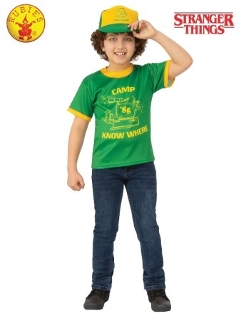 Stranger Things Dustin Camp Know Where Kids T-Shirt cl701020