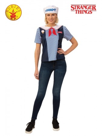 ROBIN STRANGER THINGS SCOOPS AHOY COSTUME, ADULT