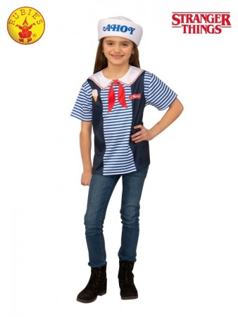 Child Teen Scoops Ahoy Stranger Things Uniform cl701478
