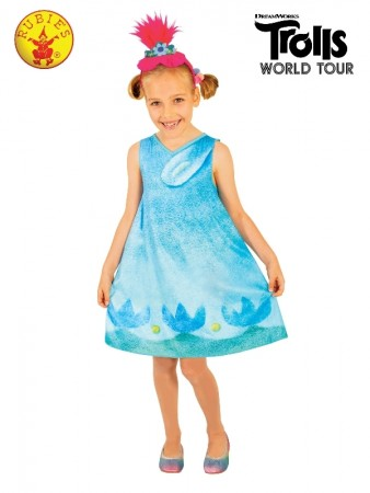 Kids Poppy Trolls Costume cl9174