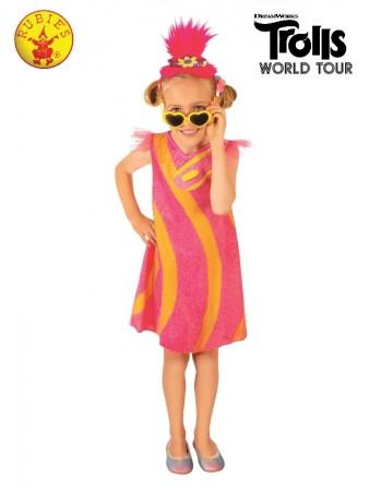 POPPY DELUXE TROLLS 2 POP COSTUME CHILD