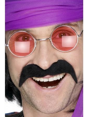 Black 70s  Moustache CS1902_1