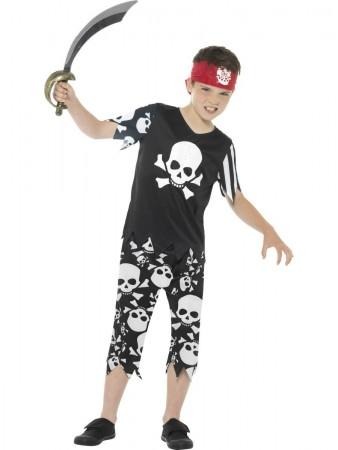 Rotten Pirate Boy Costume