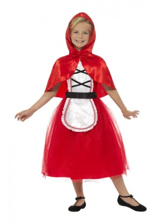 Girls Deluxe Little Red Riding Hood Costume World Book Day Book Week