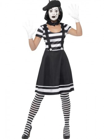 Mime Costume cs24627
