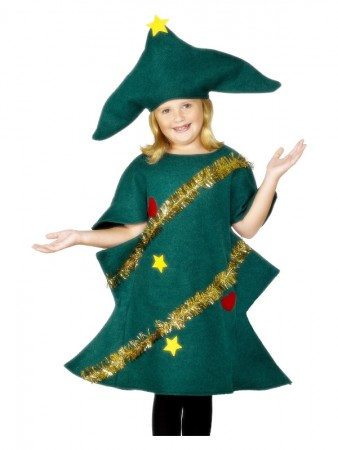 Kids Christmas Tree Costume, Bodysuit