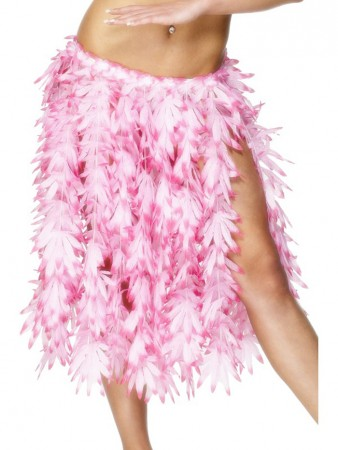 Skirt - Licensed Ladies Hawaiian Hula Leaf Skirt Straw Dancing Luau Party Tropical Beach Adults Skirt Fancy Dress Costume