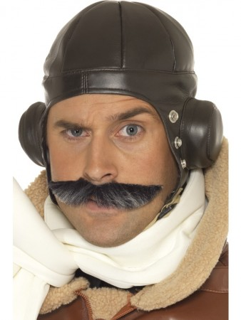 Retro Men Winter Warm Earmuff Aviator Pilot Trapper Flying Hat Cap Ski Costume Accessory
