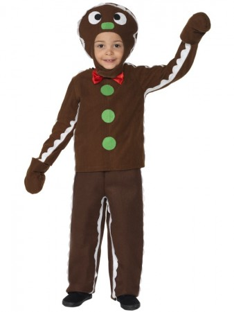 Little Ginger Man Fancy Dress Costume Boys Child Brown Book Week Christmas Costumes