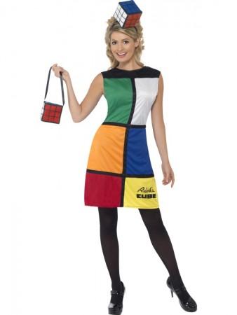 Rubik's Cube Costume 2