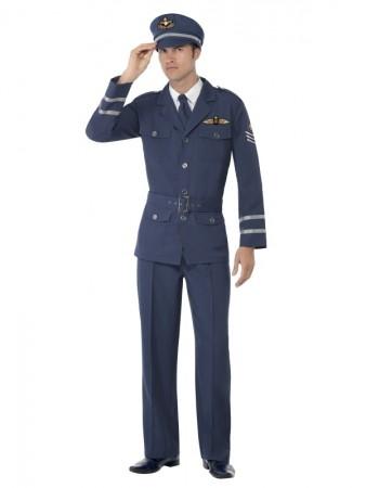 WW2 Air Force Captain Costume cs38830_1