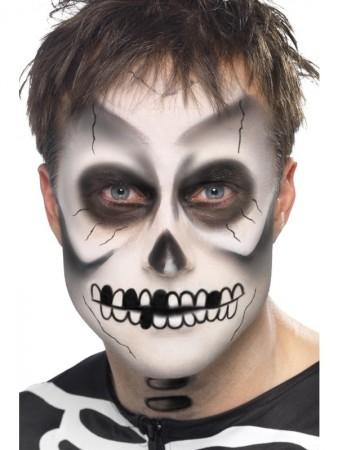 Skeleton Make Up Kit Skeleton Bones Make UP Kit Day of the Dead Make UP