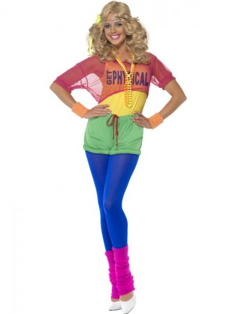 80's Girl Workout Sports Costume
