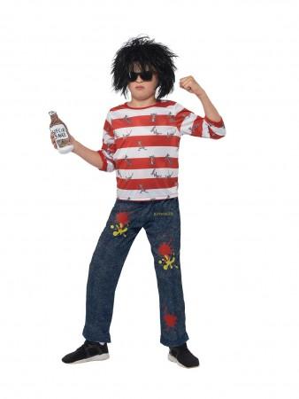 Kids David Walliams Ratburger Costume